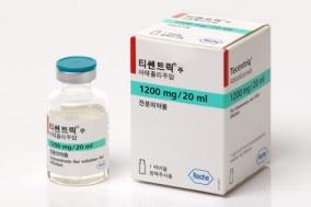 '티쎈트릭', 면역항암제 소세포폐암 1차 치료제 승인