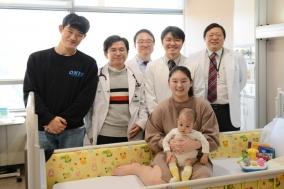 세브란스병원, 소아 간이식 수술 100례 달성