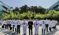 한국한의약진흥원, '덕분에 챌린지' 동참…의료진에 고마움 전해