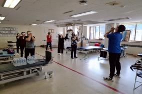충북대병원, 환자 건강·안정 위한 산림 체험 프로그램 실시